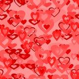 Papier d'emballage d'amour. Photo stock