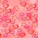 Papier d'emballage d'amour. Photos stock