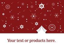 Papier d'emballage de Noël Photo libre de droits