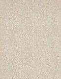 Papier d'extrémité floral victorien de livre de cru Photo libre de droits