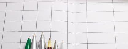 papier długopis Obraz Stock