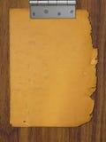 Papier dans la charnière illustration libre de droits