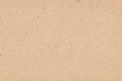 Papier de Brown comme fond Images libres de droits