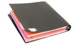 Papier de cahier de fichier Images libres de droits