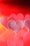 papier de coeur Photographie stock libre de droits