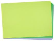 Papier de couleur Photos libres de droits