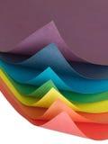 Papier de couleur Photographie stock libre de droits