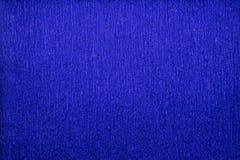 Papier de crêpe métallique bleu de couleurs de textures naturelles bout droit de 40 pour cent Photographie stock libre de droits