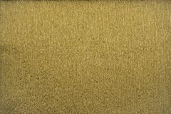 Papier de crêpe métallique de couleurs d'or naturel de textures bout droit de 40 pour cent Photos stock