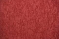 Papier de crêpe naturel de couleurs rouges de textures bout droit de 200 pour cent Photos libres de droits
