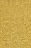 Papier de crepe d'or Image libre de droits