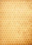 Papier de cru de fond de coeur vieux Photographie stock libre de droits