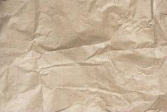Papier de Crumled Image stock