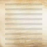 Papier de feuille de musique classique Photos stock