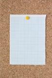 Papier de graphique Photographie stock