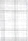 Papier de maths Images stock
