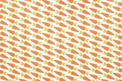Papier de modèle de carotte Images stock