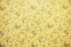 Papier de mur avec la configuration de fleur image libre de droits