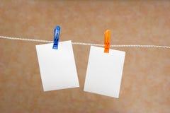 Papier de note Photographie stock libre de droits