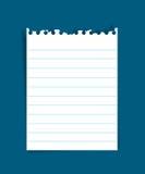 Papier de note illustration libre de droits