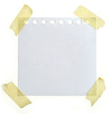 papier de note Photos stock