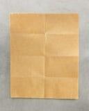 Papier de note plié images stock