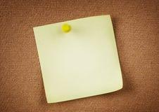 Papier de notification Image libre de droits