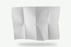 Papier de pli Photo libre de droits