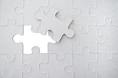 Papier de puzzle photos libres de droits