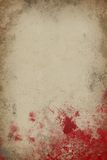 Papier de sang Photos libres de droits
