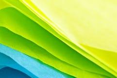 Papier de soie de soie Photo libre de droits