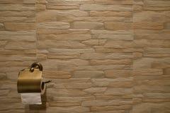Papier de soie de soie de salle de bains Images stock
