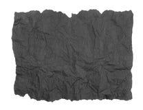 Papier de soie de soie gris déchiré photos stock