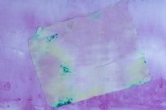 Papier de soie de soie peint images stock