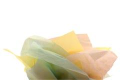 Papier de soie de soie pour le sac de cadeau Photographie stock libre de droits