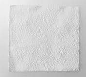 Papier de soie de soie vide sur le fond blanc Photos libres de droits