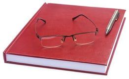 Papier de thèse coloré par rouge foncé Image stock