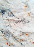 Papier de Tighting de marbre de lumière de fond de vecteur Images libres de droits