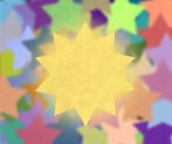 Papier des étoiles Photo libre de droits