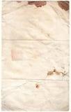 Papier diminué par antiquité (inc. cli Photos libres de droits