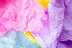 Papier en soie Image libre de droits
