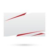 Papier. Entwurfsschablone des leeren Papiers lizenzfreie abbildung