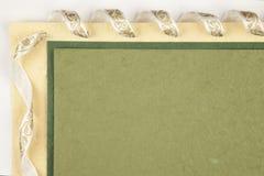 Papier fabriqué à la main Photographie stock libre de droits