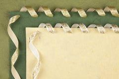 Papier fabriqué à la main Images libres de droits