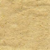 Papier fabriqué à la main beige léger Images libres de droits