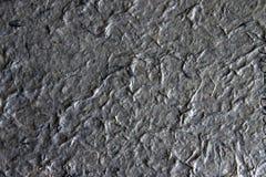 Papier fabriqué à la main - gray4 Image stock