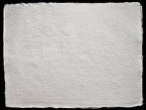 Papier fabriqué à la main texturisé Photos libres de droits