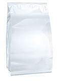 Papier fermé blanc d'échange courant de nourriture Photos libres de droits