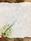 Papier floral Photos libres de droits