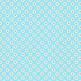papier floral de Digital de fond de modèle de champ de marguerite de marguerites de fantaisie de 5000x5000px 300dpi illustration de vecteur
